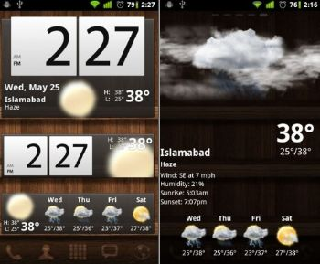 Widgets para Android: Beautiful Widgets Lite Free