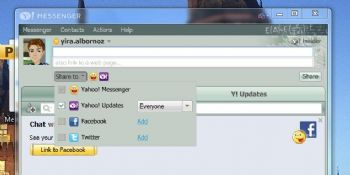 Yahoo Messenger 11 disponible y añade interoperabilidad con el chat de Facebook y más